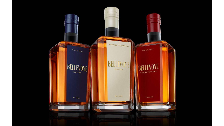 Foto: Bellevoye logra el equilibrio ideal buscado a través de la mezcla de tres destilerías de whisky diferentes.