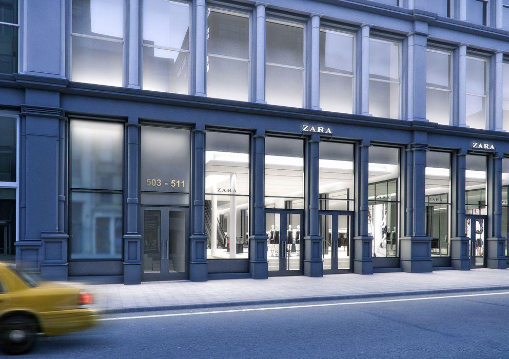 Foto: Imagen de la nueva tienda de Zara en el SoHo