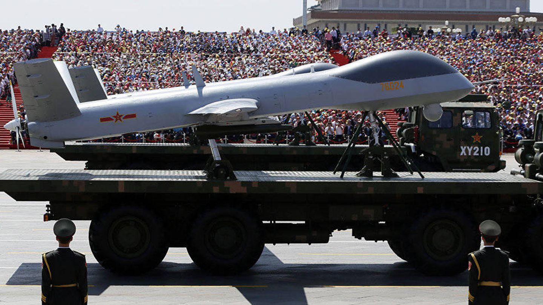 Uno de los drones fabricados por CASIC. (SputnikNews)