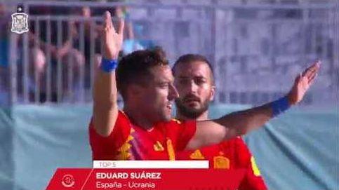 Cinco goles espectaculares de la Selección española de fútbol playa