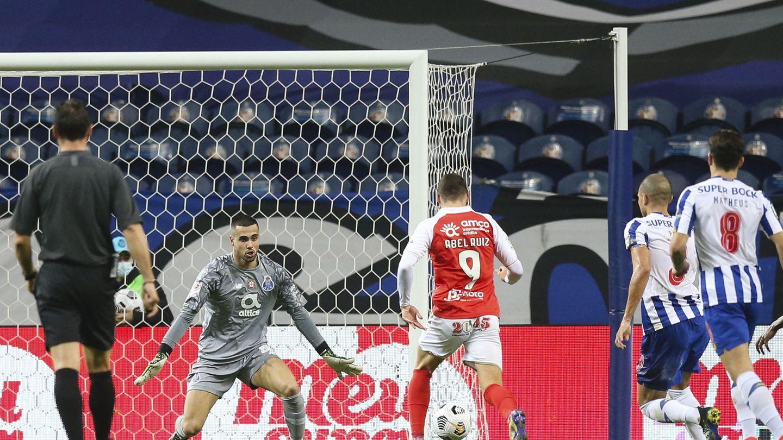 Abel, en el Sporting de Braga. (EFE)