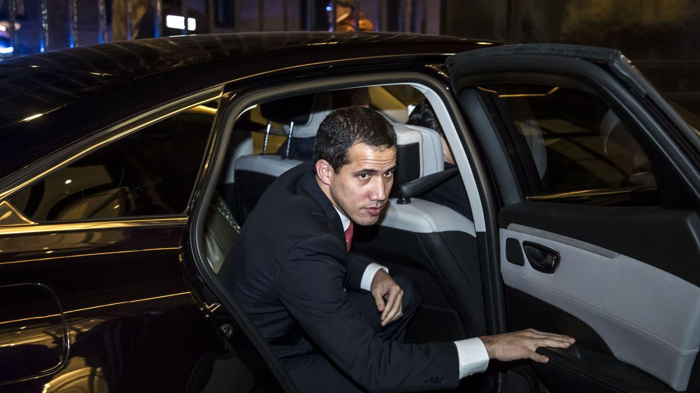 Guaidó, recibido por Macron en París: España es aliada de la democracia