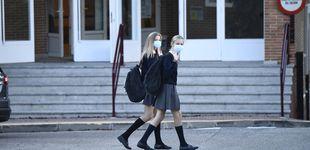 Post de La infanta Sofía protagoniza su vuelta al cole junto a Letizia y Leonor