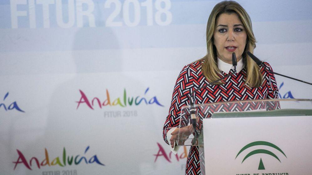 Foto: La Presidente de la Junta de Andalucía, Susana Díaz. (EFE)