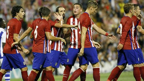 El Atlético de Madrid remata un día de locos con un triunfo 'after hour'