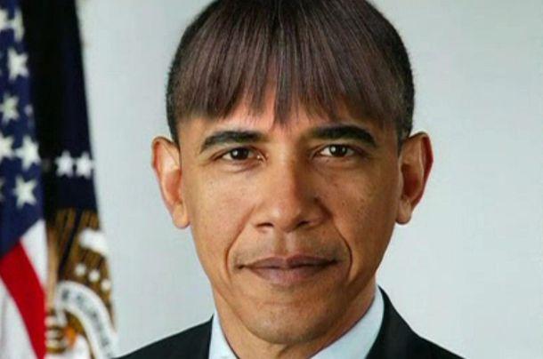 Foto: Un retrato del presidente de Estados Unidos, Barack Obama, en clave de humor hecho por la propia Casa Blanca. (Reuters)