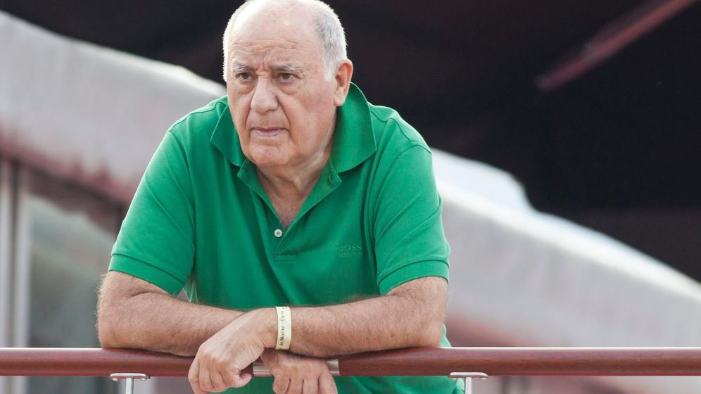 Foto: El empresario Amancio Ortega en una imagen de archivo (Gtres)