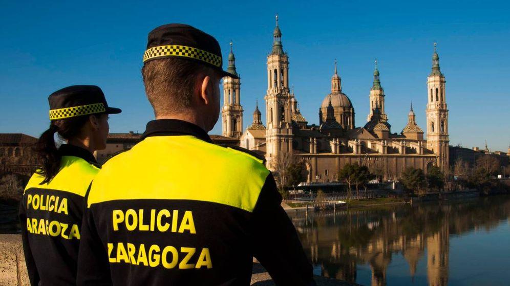 Foto: Agentes de la policía de Zaragoza (Policía)