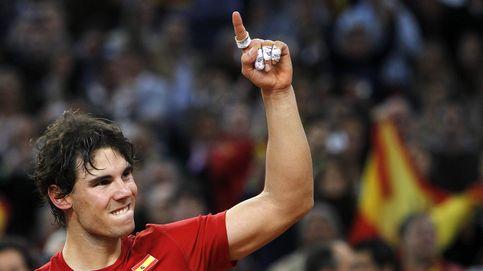 Nadal llega al rescate de España en el día más surrealista para el tenis danés