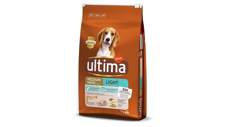 Pienso para mascotas light con pollo Ultima