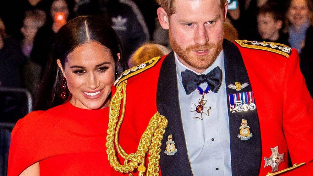 Foto: El príncipe Harry y Meghan Markle, en marzo de 2020. (Cordon Press)