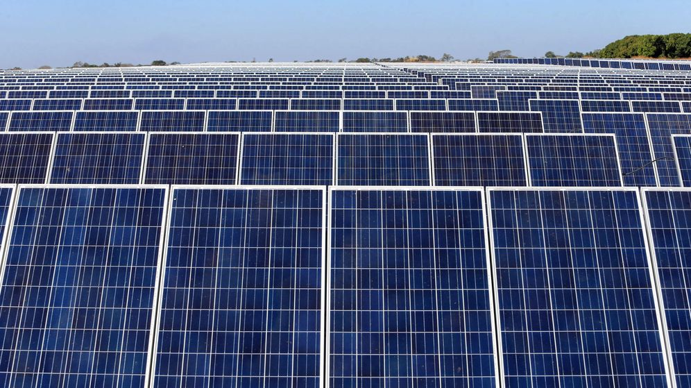 Foto: Parque solar en Guatemala (Efe)