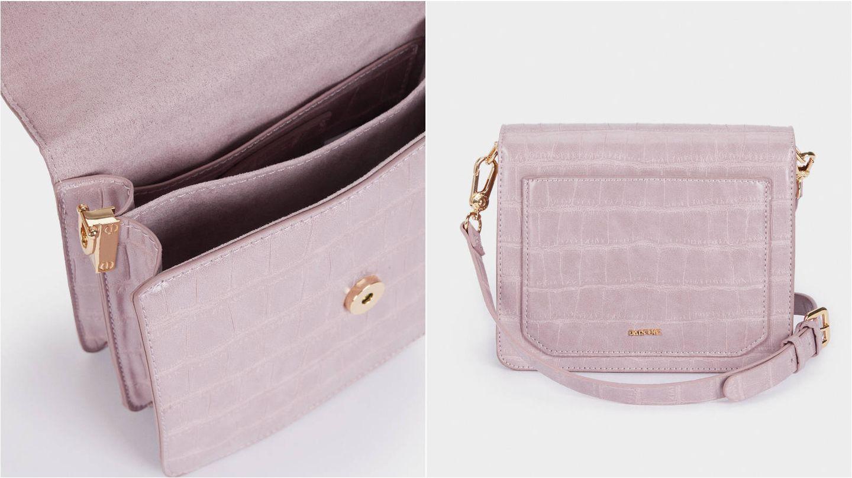 Bolso color violeta de Parfois. (Cortesía)