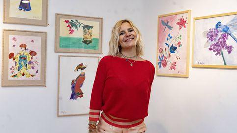 Eugenia Martínez de Irujo se lanza al diseño de mascarillas y kimonos