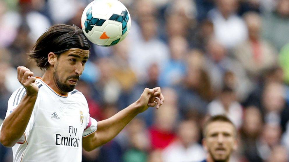 El Real Madrid puso en el mercado a Khedira por su negativa a renovar