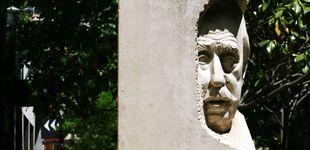 Post de La estatua del oscuro racista de Les Corts