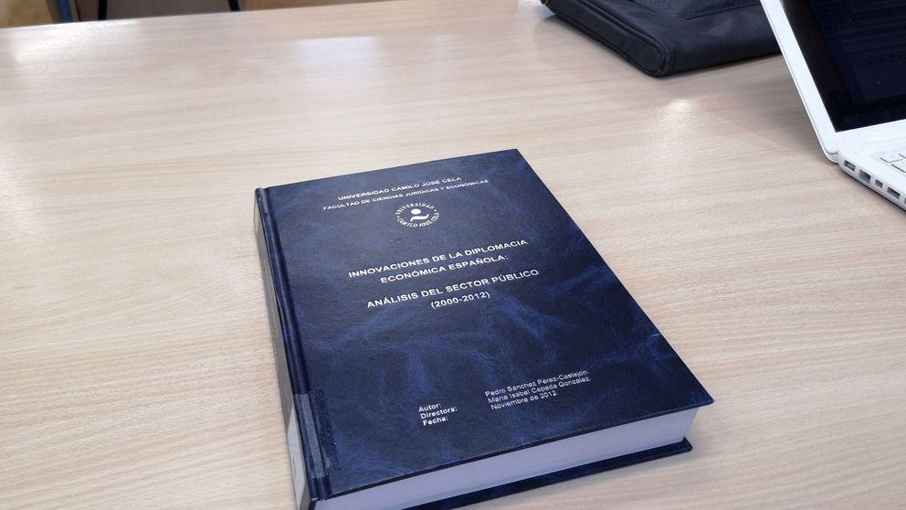 Pedro Sánchez hace pública su tesis y ya se puede consultar en la web de TESEO