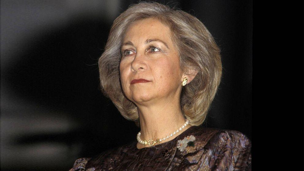 La melena imperturbable de la reina Sofía, un peinado real y con mucha laca
