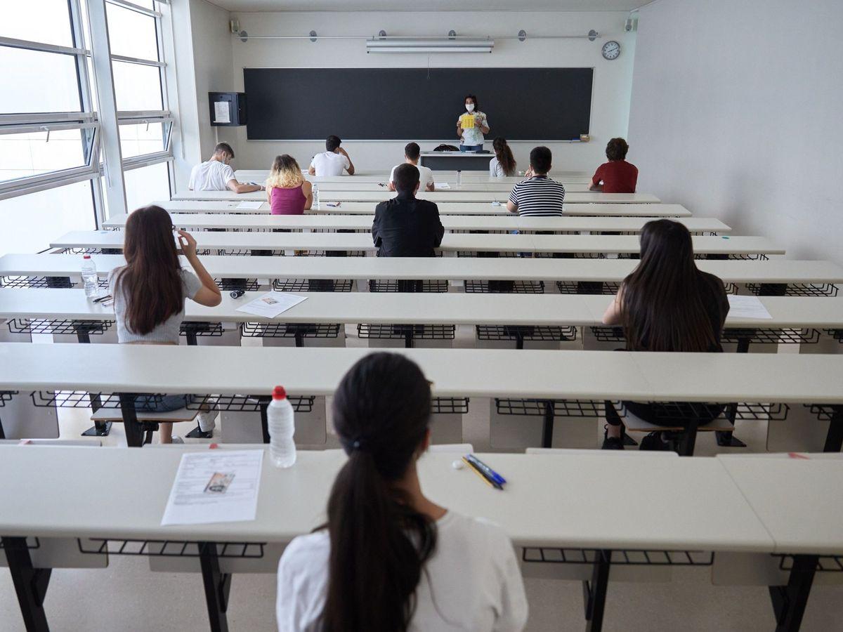 Foto: Alumnos en la universidad. (EFE)