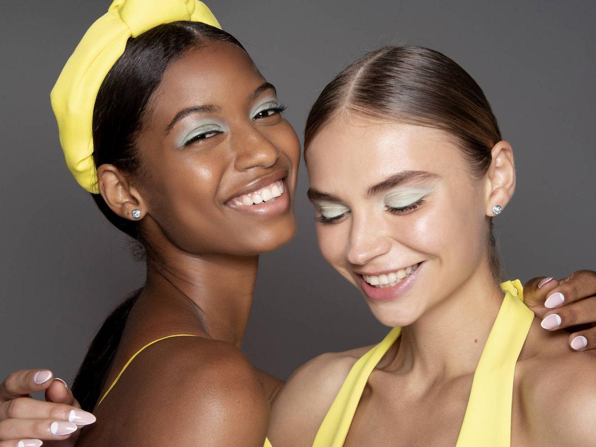 Foto: Qué es el maquillaje acuarela y por qué va a dulcificar tu mirada. (Imaxtree)