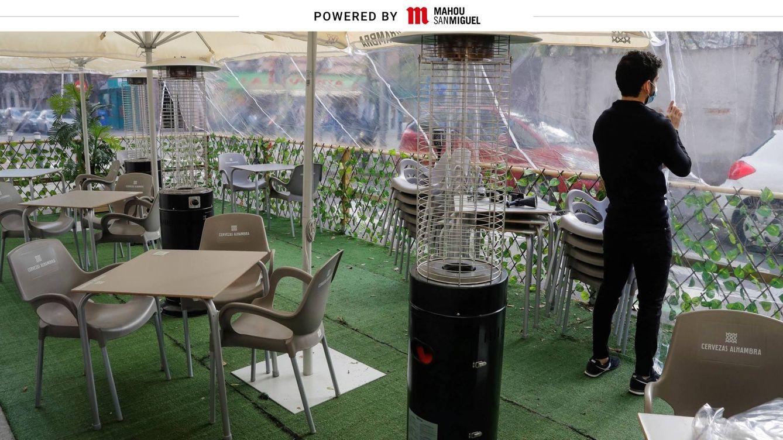 Mahou San Miguel invierte 20 millones para acondicionar las terrazas en invierno