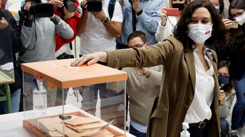 Ayuso barre a la izquierda en Madrid y gobernará sin pedir permiso a Vox