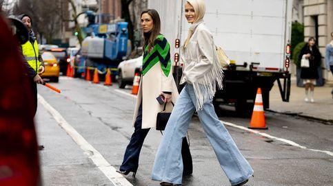 Este otoño tu pantalón vaquero será 'flare' o no será, palabra del street style