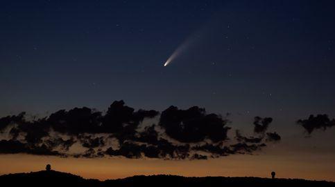 Así se ha visto a simple vista el cometa NEOWISE