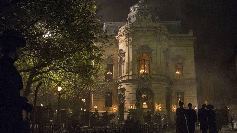 Imagen de uno de los escenarios de 'El Alienista'. (Netflix)
