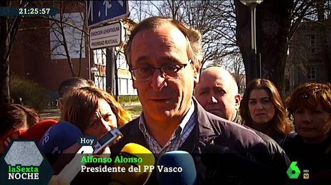 Alfonso Alonso deja plantado a Iñaki López: Debería estar aquí