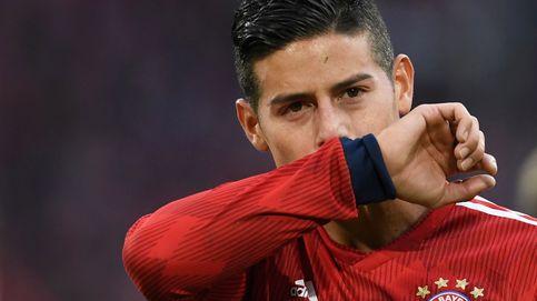 La lesión de James producida por un fuerte estrés muscular (malo para el Real Madrid)