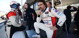 Post de Alonso, primer asalto a Daytona: decimosegundo, y panorama complicado