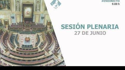 Siga en directo la comparecencia de Sánchez para informar del próximo Consejo Europeo