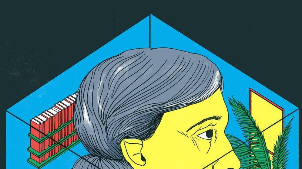 Foto: 'Virginia Wolf y el cuarto propio mutante' (Ilustración de Cristina Daura)