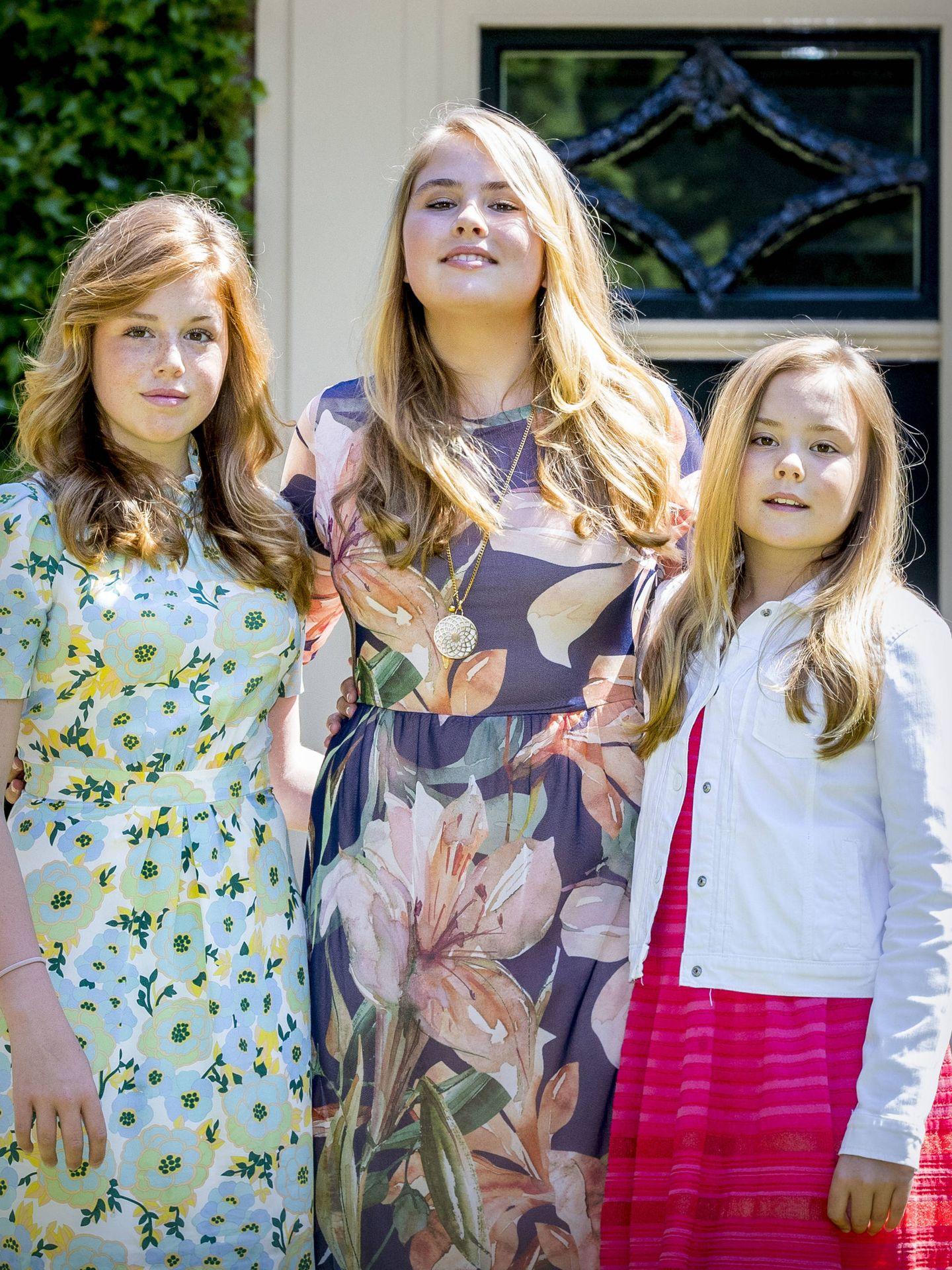 Amalia, Alexia y Ariane. (Getty Images)