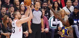 Post de El partidazo de Marc Gasol con los Raptors hunde a los Warriors de Curry