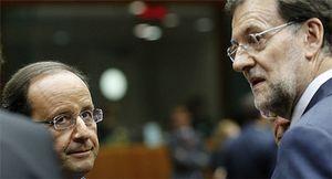 Rajoy adelanta la visita de Hollande antes de entrar en la negociación del rescate 'suave'