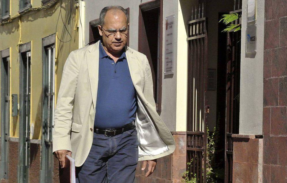 Foto: El presidente del cabildo de La Gomera y hombre clave. (EFE)