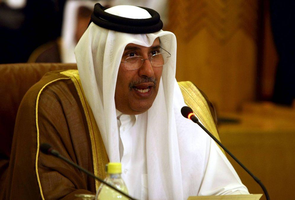 Foto: El exministro de Asuntos Exteriores qatarí e inversor de El Corte Inglés, Hamad bin Jassin bin Jaber al Thani.