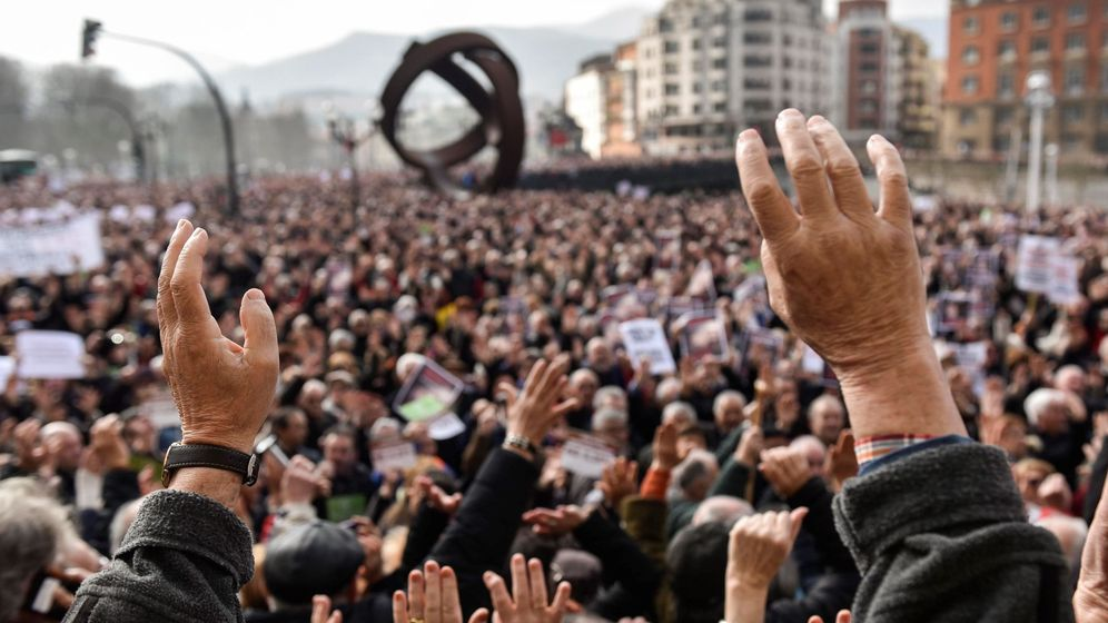 Foto: Manifestación pensionistas