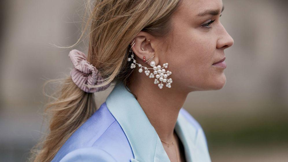 Foto: La coleta de moda sirve para cualquier largo. (Imaxtree)