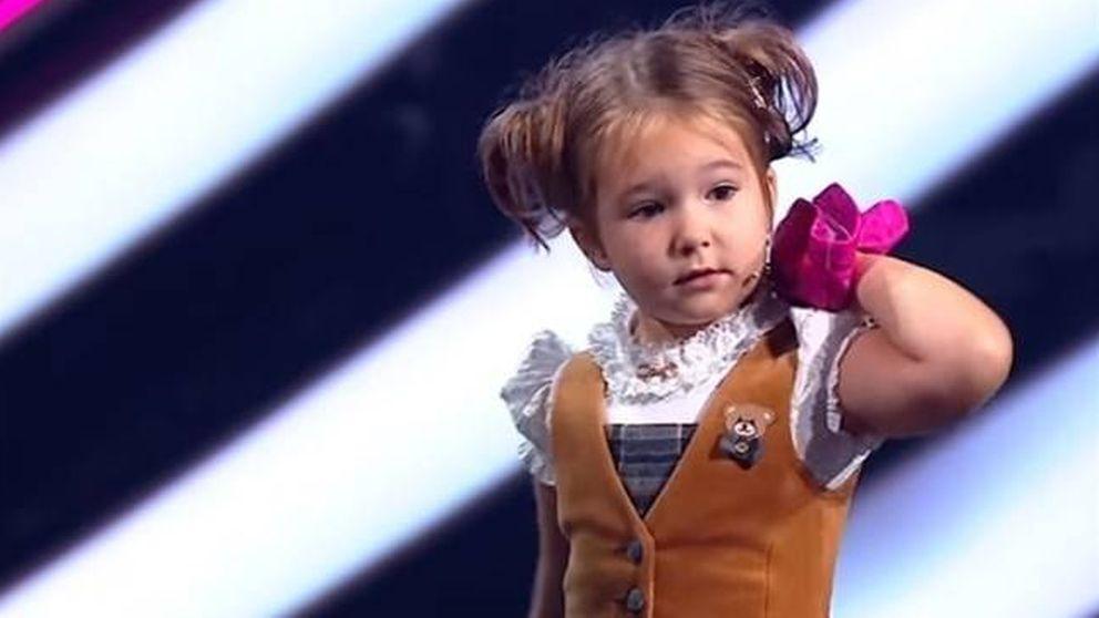 Bella, la niña que habla siete idiomas con cuatro años