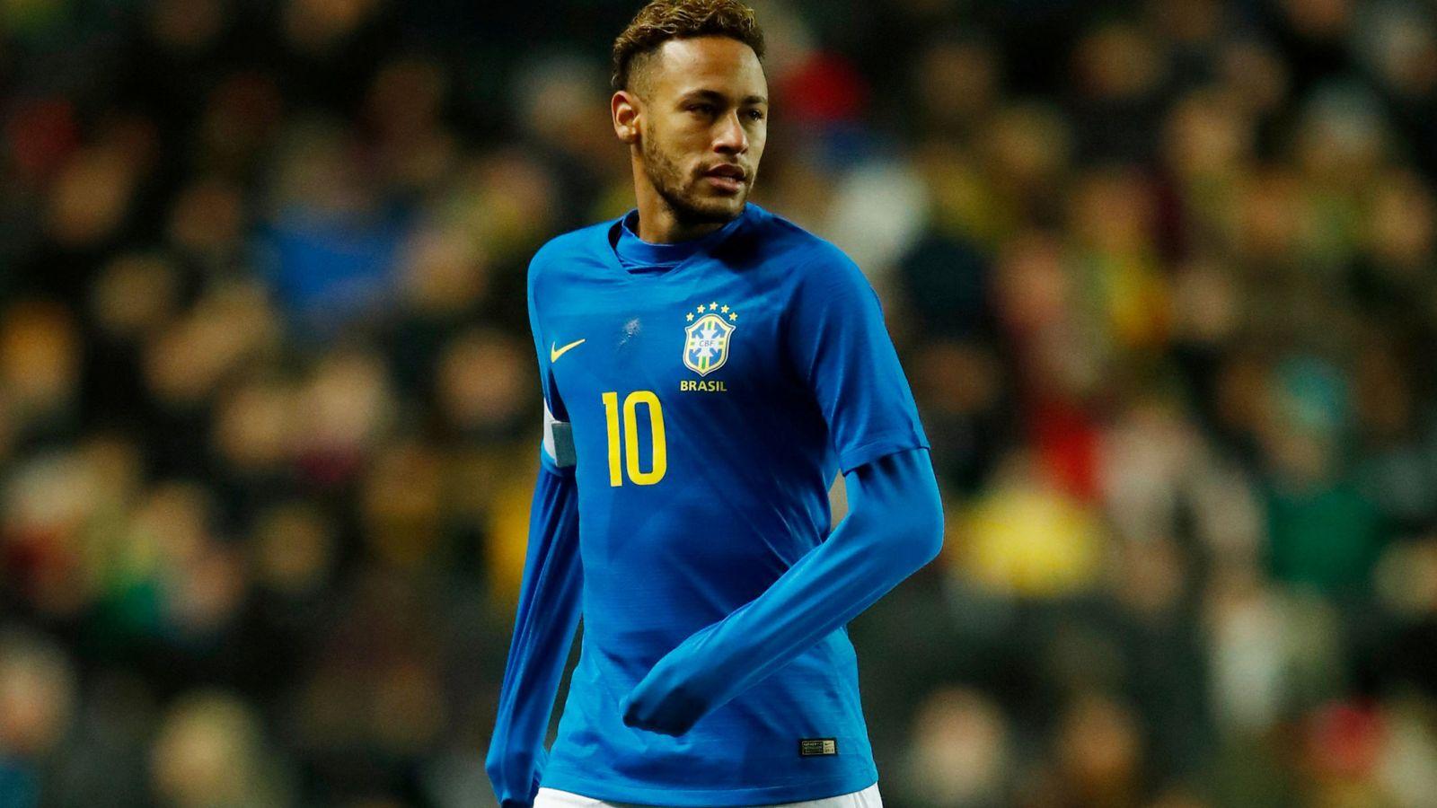 Foto: Neymar se retiró lesionado del amistoso Brasil-Camerún jugado el martes. (Reuters)