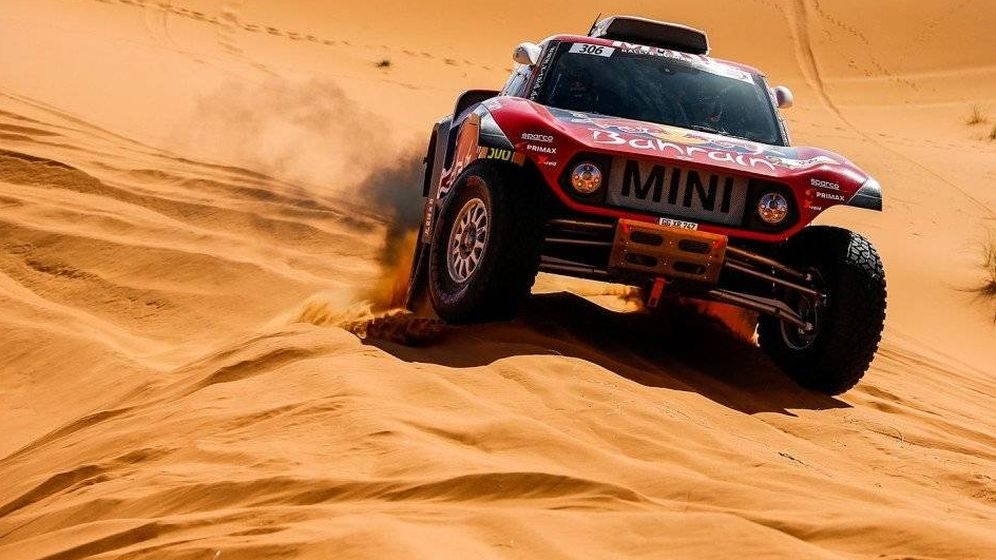 Foto: Carlos Sainz logra la segunda victoria consecutiva y podría optar incluso al triunfo en el Rally de Marruecos
