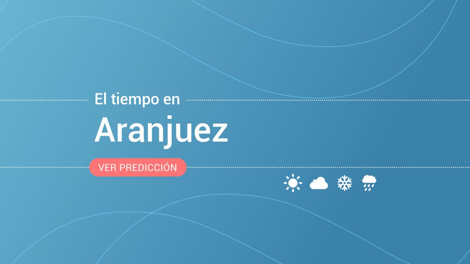 Foto: El tiempo en Aranjuez. (EC)