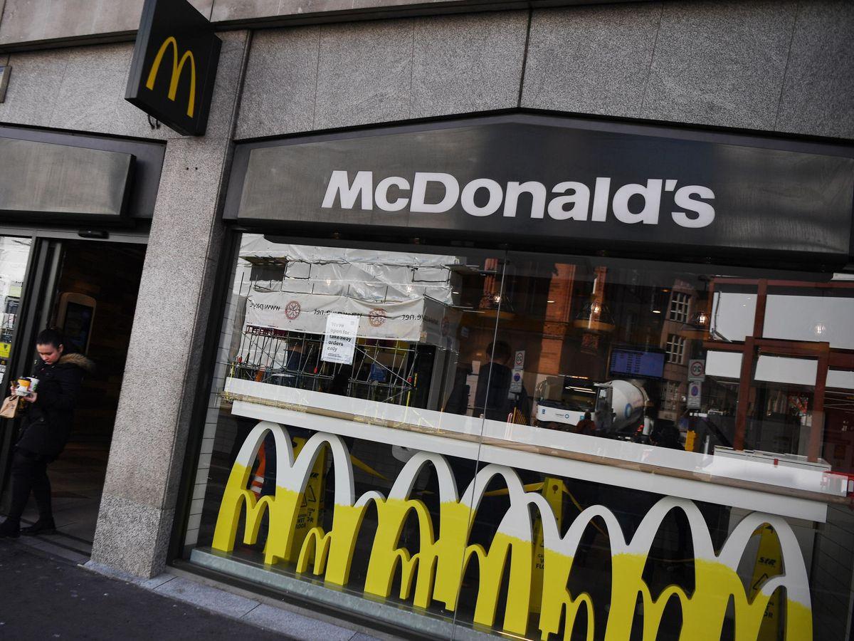 Foto: Restaurante de McDonald's en Londres. (EFE)
