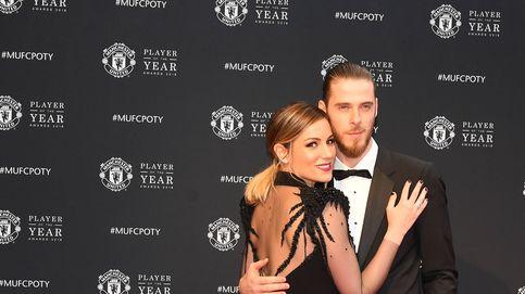 Edurne y David de Gea, reyes de la alfombra roja en los Premios del Manchester United