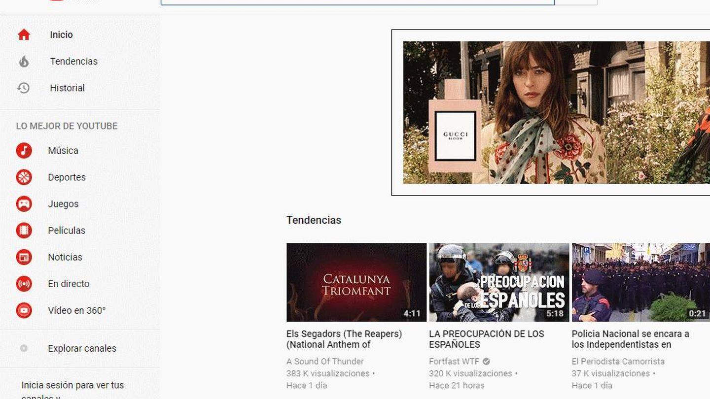 El vídeo se ha posicionado en las tendencias de Youtube al poco de su publicación.