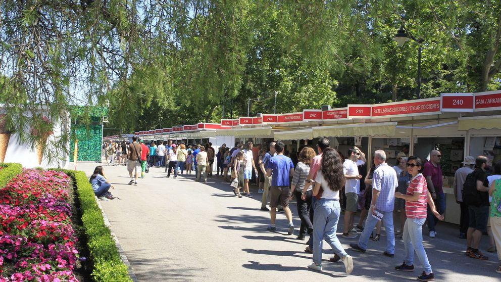 La Feria del Libro de Madrid peligra tras el cierre del Retiro por el temporal