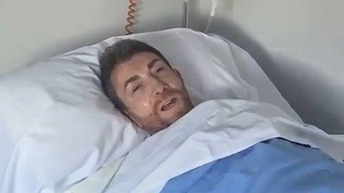 Pablo Motos impacta con un vídeo desde el hospital tras operarse: Duele mucho